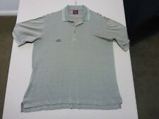 055 MENS NWOT CANTERBURY OLIVE / LIGHT OLIVE PATTERNED S/S POLO SML $110.