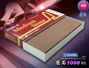 Japan Naniwa Waterstone Whetstone 1000 Grit M210 Sharpening Stone Kitchenware