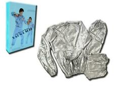 Adult Workout Sauna Suit Sweat Top & Bottom Set