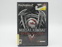 2002 Mortal Kombat: Deadly Alliance Sony PlayStation 2  Includes Manual