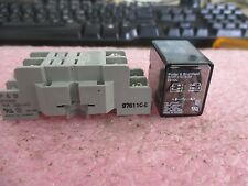 Potter & Brumfield: Model: K10P-11D15-24 Relay with 97611C-E Base  <