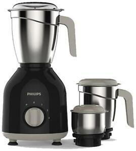 Philips HL7756/00 750 W Mixer Grinder ( Black , 3 Jars )-x4I