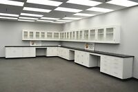 5' BASE 30' WALL Laboratory Furniture / Cabinets / Case Work / Benches / Tops.