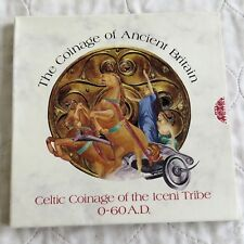 More details for celtic coinage silver unit of the iceni tribe - sealed pack