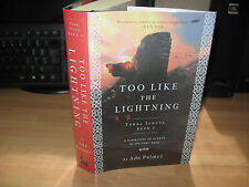 Ada Palmer - Too Like The Lightning Signed Limited 1st edition Hugo Award debut