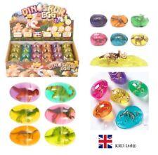 2 x DINOSAUR PUTTY EGG Kids Toy Sensory Play Party Bag Filler Birthday Gift UK