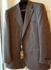 NEW CANALI 100% WOOL MEN'S SPORT COAT sz. US 44 Short   IT 54 C 4 MADE IN ITALY