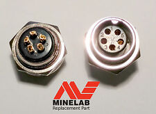 5 Pin ✪ chassis gold plated connector for ✪ Minelab ✪ GPX battery 5000 4500 4800