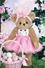 """14"""" Beary Cottontail*Bearington Teddy Bear*New*Nwt*Spring*Bunny Ears*420332"""