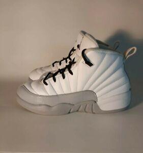 Jordan 12 Retro Color Wolf Grey White Size 3Y