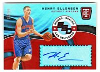 2017-18 Totally Certified SIGNED SEALED DELIVERED AUTO HENRY ELLENSON 64/99