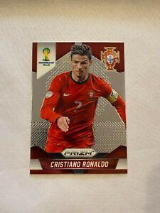 2014 Panini Prizm Fifa Soccer World Cup Cristiano Ronaldo Card #161