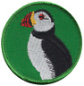 Puffin Sea Bird Embroidered Patch