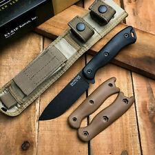 Ka-Bar Becker BK16 Short Drop Point 1095 Carbon Fixed Blade Camp Survival Knife