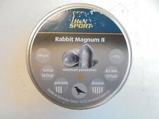 H and N rabbit magnum .177 / 4.5mm airifle pellets x 200 pellets free postage.