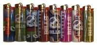 8pc Set BIC Buffalo Bills NFL Officially Licensed Cigarette Lighters
