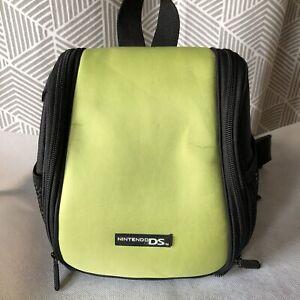 Nintendo DS Game Storage Bag Backpack - Black & Green