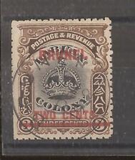 BRUNEI 1906  optd 2c on 3c black and sepia vfu