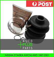 Fits NISSAN STAGEA AWC34 4WD 1997-2001 - Boot Inner Cv Joint (72.5X96X20.7) Kit