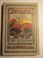 Deutsche Burschenschaft - Jahrbuch - 1906 - mit Farbtafeln / Studentika