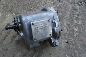 BSA SLOPER BLUESTAR 4 SPEED GEARBOX , COMPLETE, 30