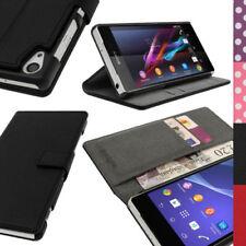 Custodie portafogli nero Per Sony Xperia Z per cellulari e palmari