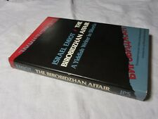 1981 - THE BIROBIDZHAN AFFAIR Israel Emiot - A Yiddish Writer in Siberia 1st HB