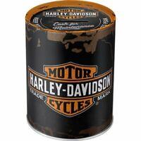 Harley Davidson Spardose für die erste Harley Motorrad Biker Rocker Geschenk