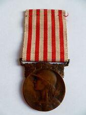 Médaille COMMEMORATIVE GRANCE GUERRE 1914/1918 ORIGINAL bronz FRENCH MEDAL ORDER