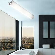 Spiegel Leuchte Chrom Bade Zimmer Wand Beleuchtung Glas Decken Lampe schaltbar