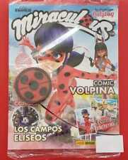 MIRACULOUS LADY BUG Adventures Two Posters Mexican Magazine with One Mirror Pani
