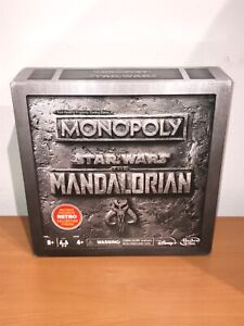 STAR WARS PREMIUM THE MANDALORIAN MONOPOLY NO RETRO STORMTROOPER FIGURE