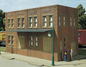 HO Laube's Linen Mill Building Kit 10600