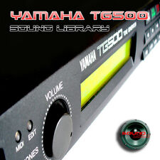 YAMAHA TG-500 THE very Best of - HUGE Original 24bit WAVE Samples Library on CD