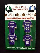 Minnesota Vikings lapel pins-4-Collectibles-Carl Eller/ SPECIAL Prince-Skol Cool