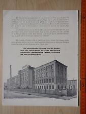 ODOL. Fabrikanlage Dresdner chemisches Laboratorium Lingner, in welchem Odol her