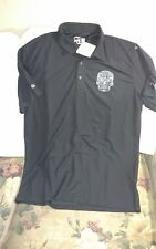 Puma Cell Polo Shirt - Large - Oculto Tequila - Black - Nwt