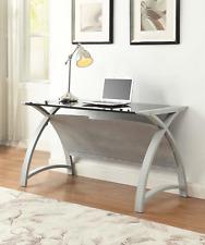 Jual Furnishings Helsinki Grey Ash Computer or Laptop Table / Desk PC201- 1300mm