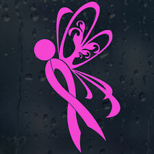 Butterfly Ribbon Cancer Sign For Every Fight Won Car Decal Vinyl Sticker