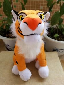 Aladdin Princess Jasmine Rajah Tiger Plush Toy Stuffed Animals 32cm