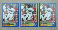 (3) Juan Gonzalez 1990 Score #637 Texas Rangers MLB Baseball Rookie Cards