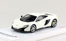 McLaren 650S Coupe 2015 weiß True Scale Miniature 1:43 Modellauto 144359