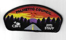 Palmetto Council SAP 2013 BLK Bdr. [PAT-1114]