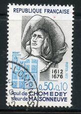 STAMP / TIMBRE FRANCE OBLITERE N° 1706 PAUL DE CHOMEDEY