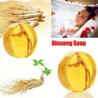 Ginseng Revitalizing Soap Bar Psoriasis Anti Fungus Bath Whitening Soap Hot AP