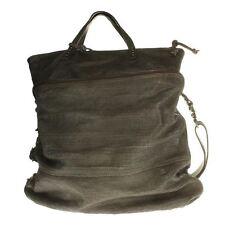 Damen-Beuteltaschen aus Leder mit Außentasche (n)