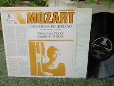 MOZART: Piano concertos n°8 & 27 > Pires Scimone / Erato stereo LP NM