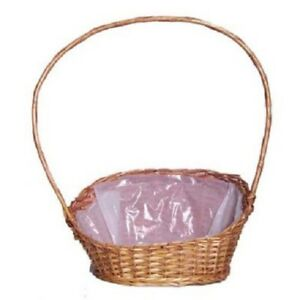 Wicker Round Hamper Basket Decorative Baskets For Sale Ebay