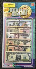 """90 pieces """"PLAY MONEY"""" Kids Toy Cash Paper Dollar Bills Party Fake Bank Games"""
