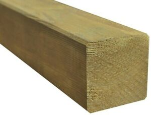 Kantholz Pfosten Holz Kesseldruckimprägniert Balken 9x9 Vierkant 200cm